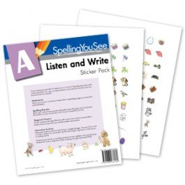 A-Listen and Write Student Pack