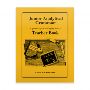 Junior Analytical Grammar Teacher Book