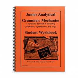 Junior Analytical Grammar Mechanics Student Workbook