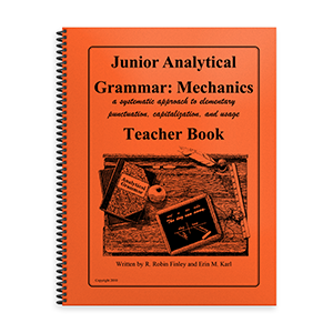 Junior Analytical Grammar Mechanics Teacher Book